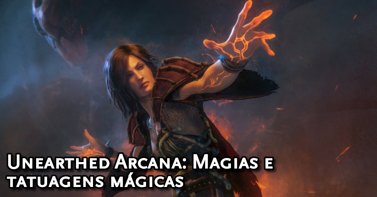 Unearthed Arcana Spells and Magic Tattoos Traduzida