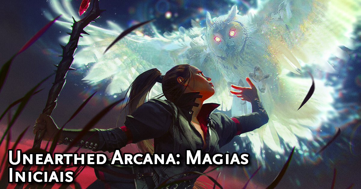 Unearthed Arcana Starter Spells Traduzida
