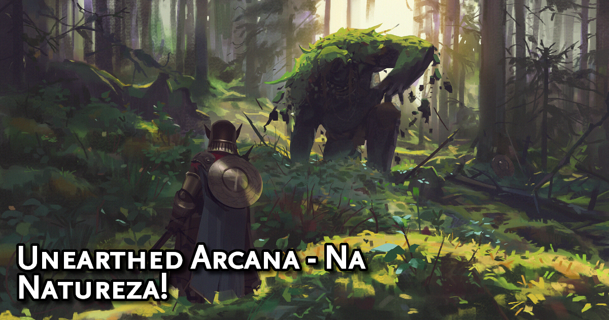 Unearthed Arcana Into The Wild Traduzida