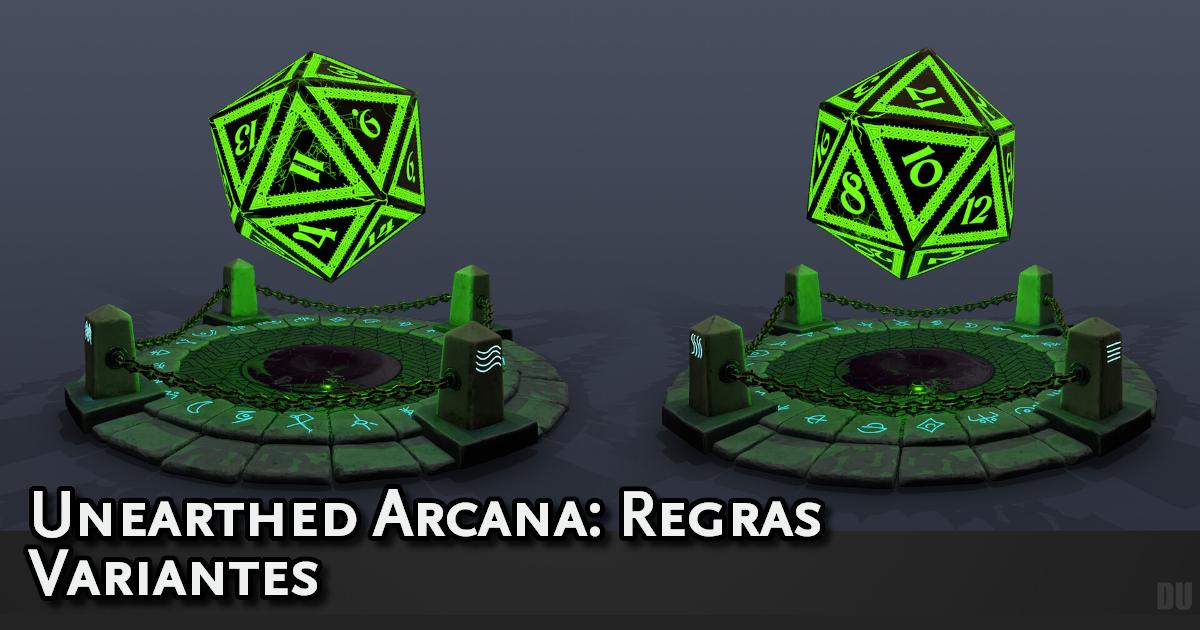 Unearthed Arcana Variant Rules Traduzida