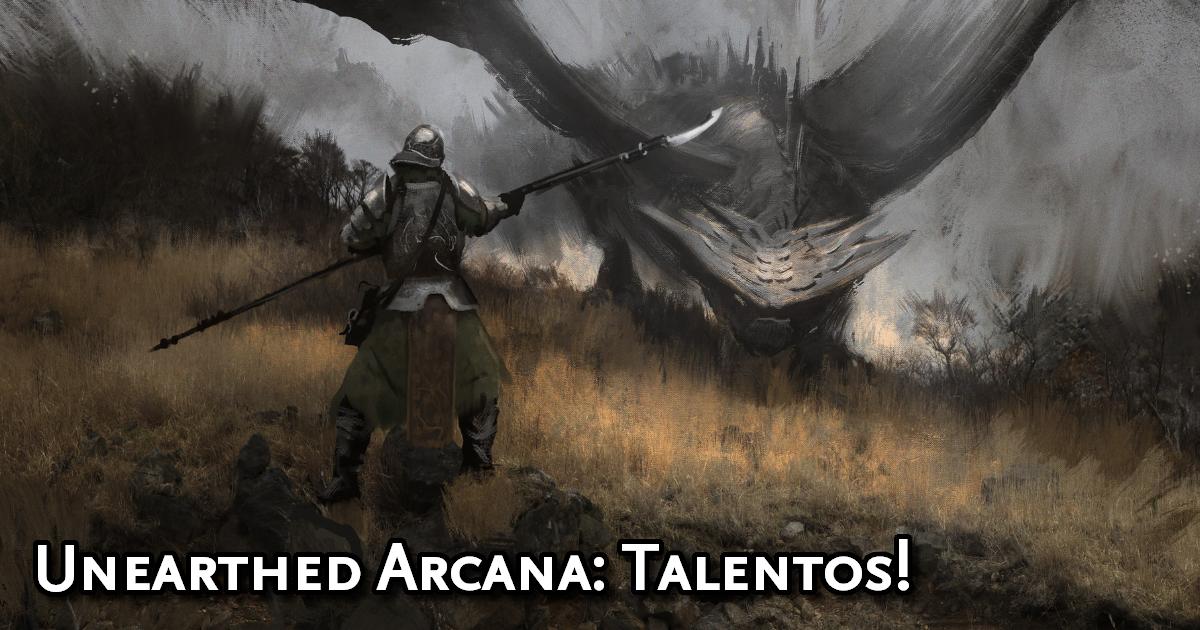 Unearthed Arcana Feats Traduzida