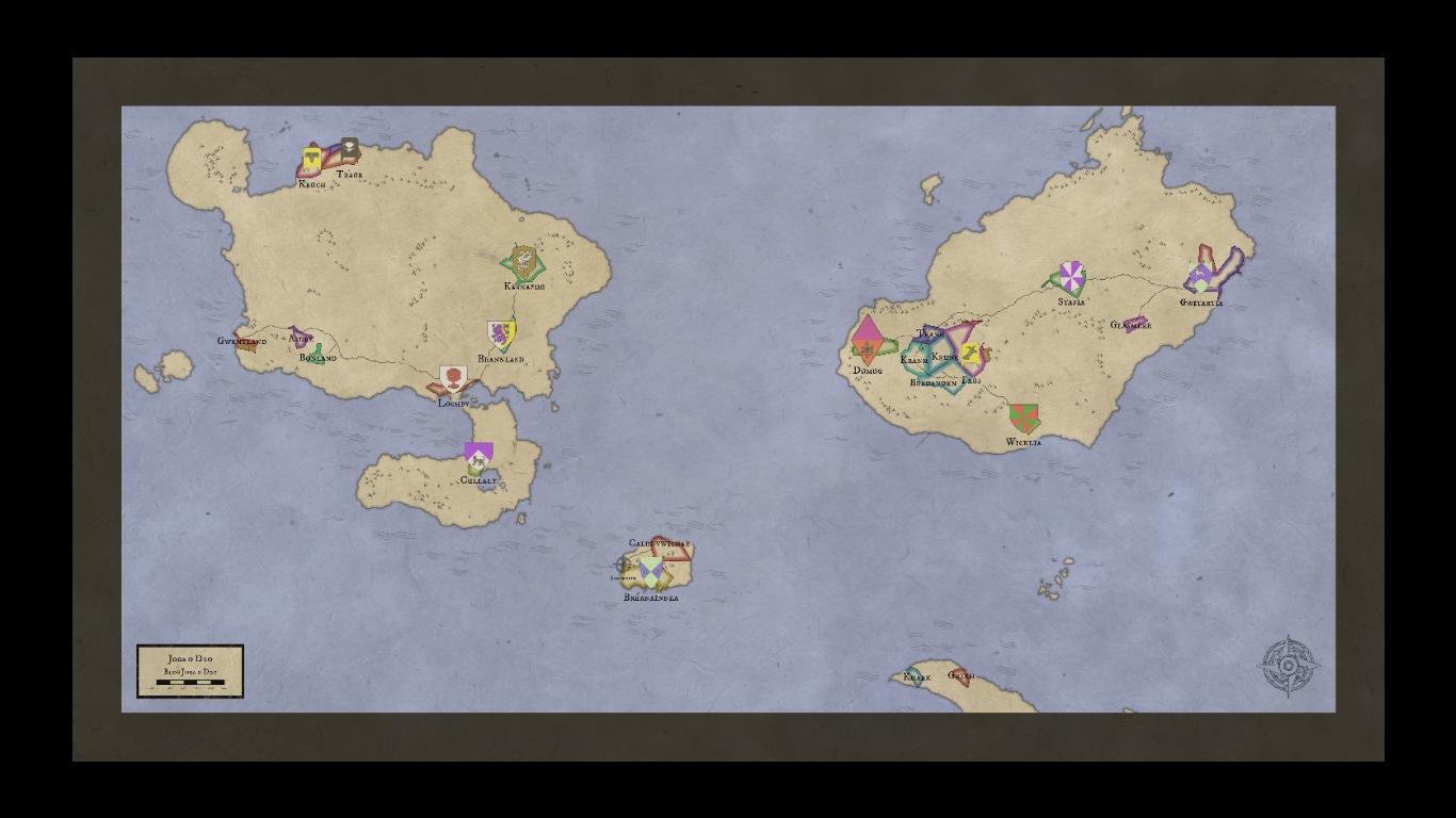 Mapas-Mundi para RPG