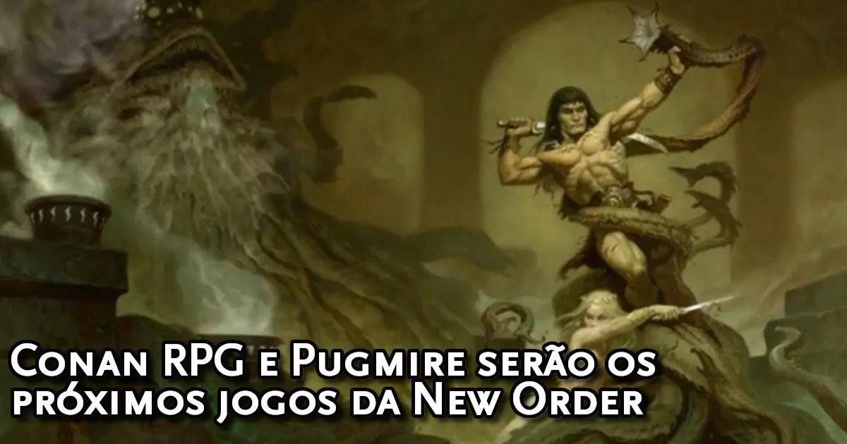Conan RPG no Brasil