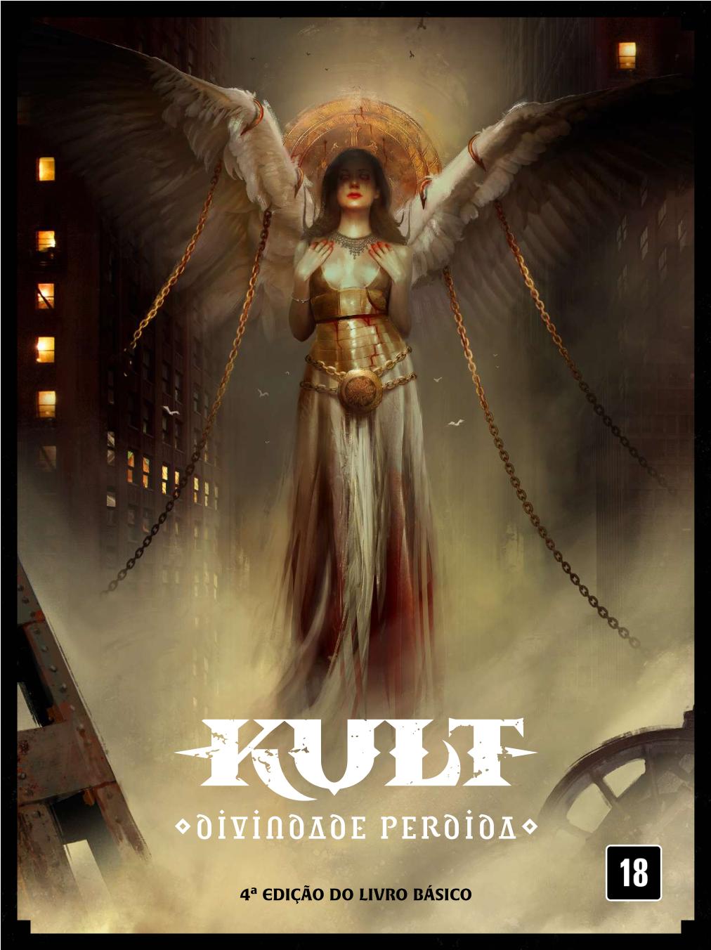 Edição em português de Kult RPG