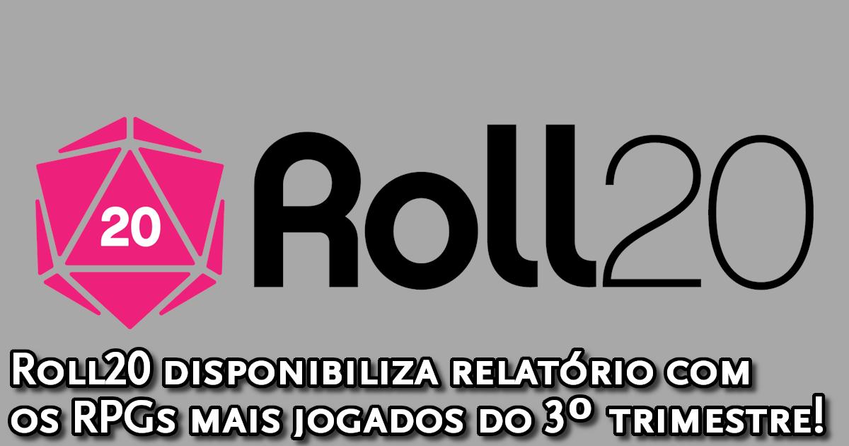 Relatórios Roll20