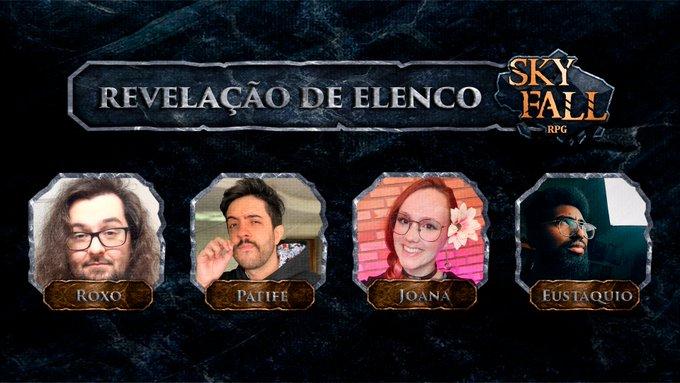 Membros 2ª Temporada de Skyfall RPG