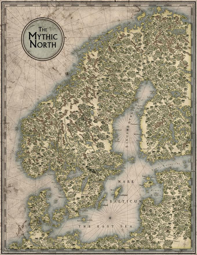 Mythic North Map