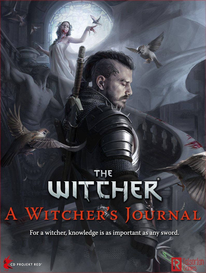 The Witcher RPG: O Diário do Bruxo