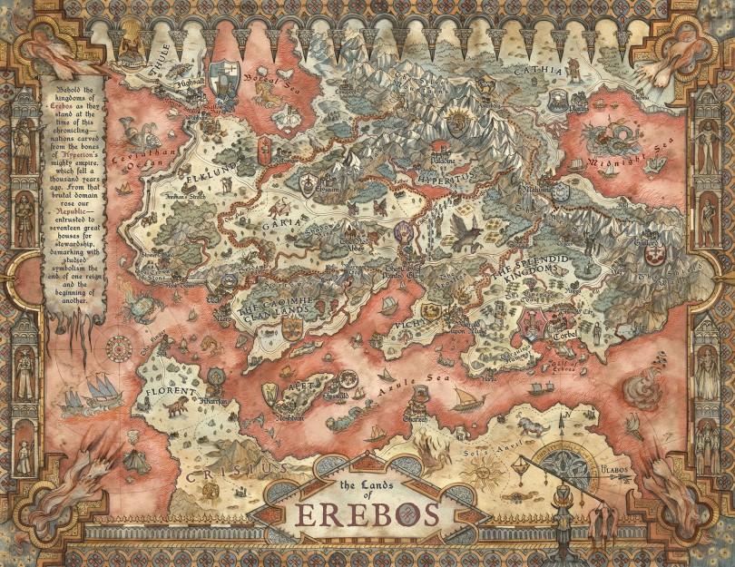Erebos World Map