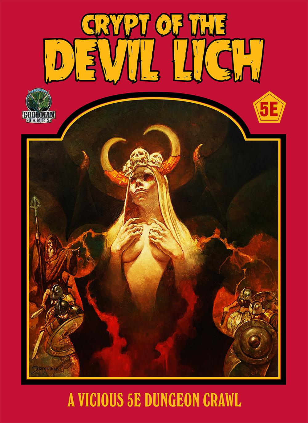 Crypt of the Devil Lich D&D 5E
