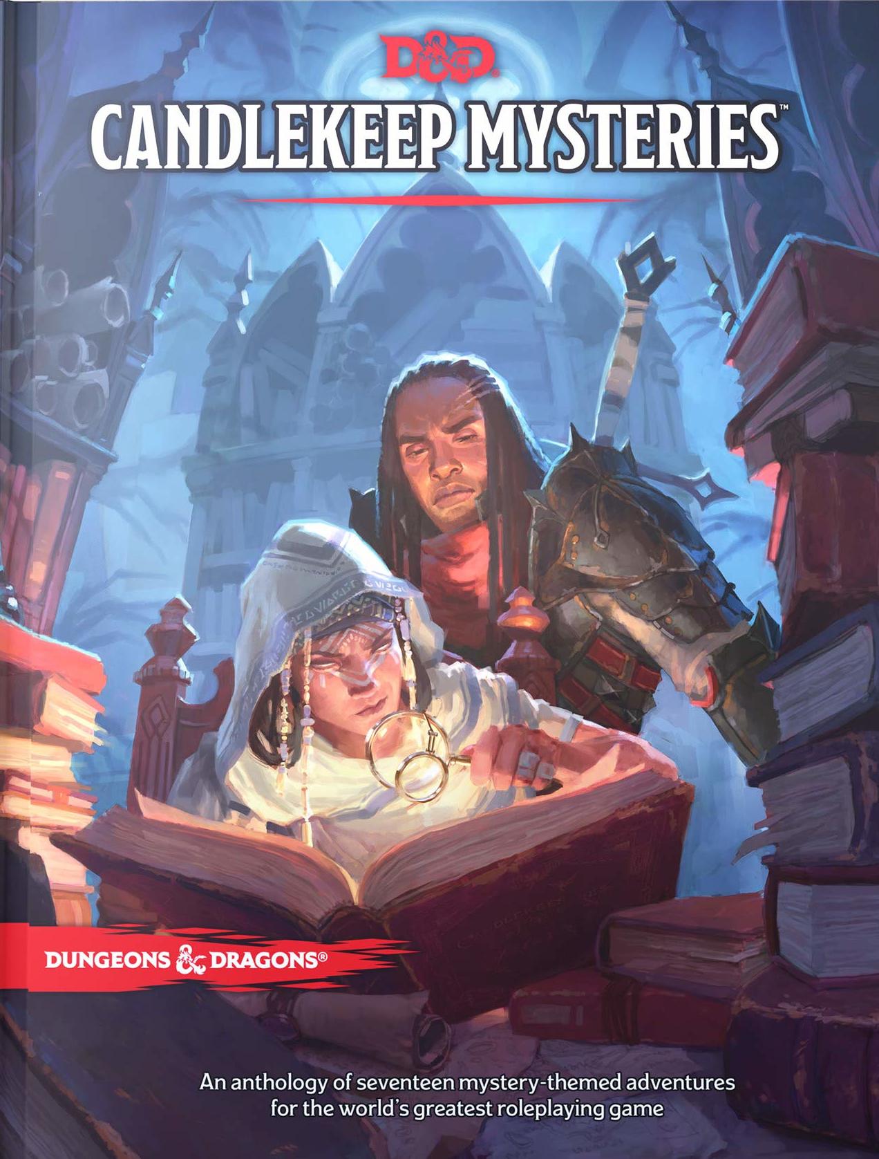 Lançamento Candlekeep Mysteries