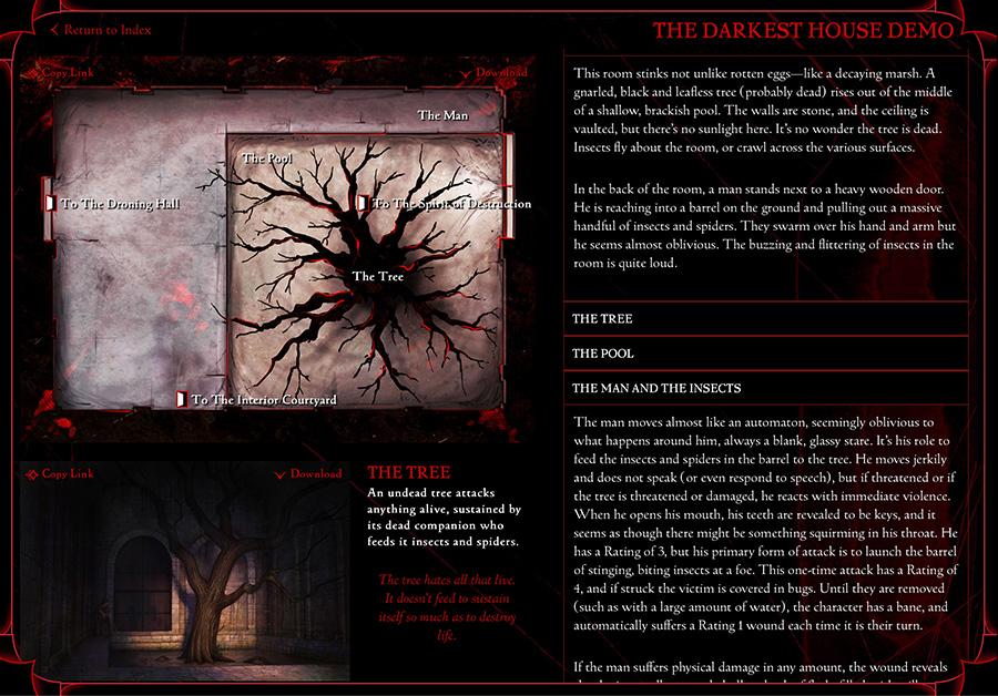 The Darkest House Layout