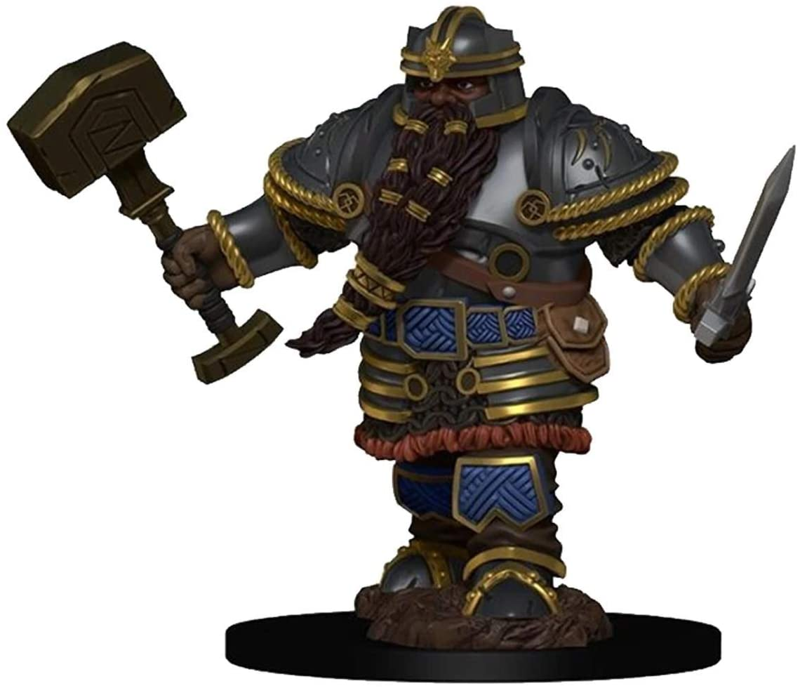 Icons of the Realms Dwarf Fighter