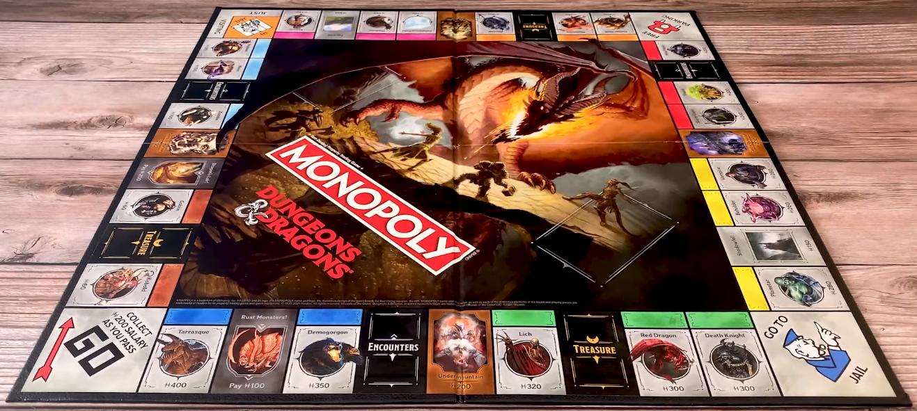 Monopoly D&D