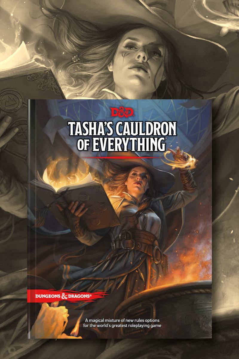 Resultados do Tasha's Cauldron D&D