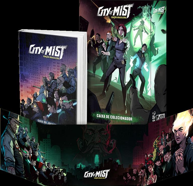 Edição nacional de City of Mist