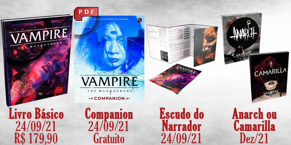 Vampire V5 em português