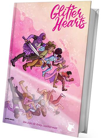 Glitter Hearts em português