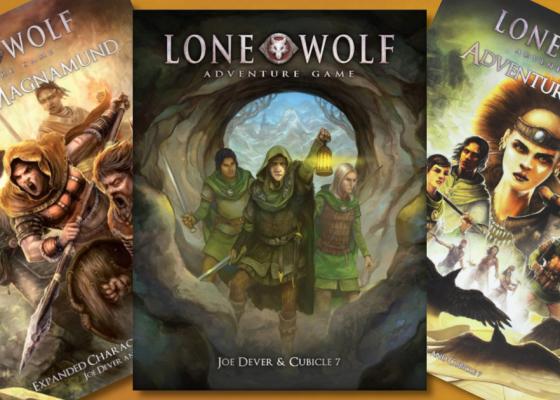 Lone Wolf RPG Descontinuado