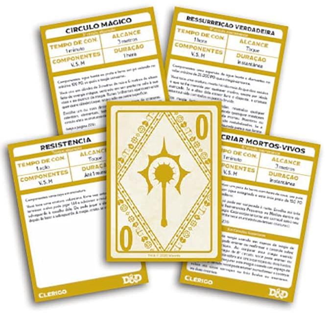 Cartas de Magia D&D 5ª Edição
