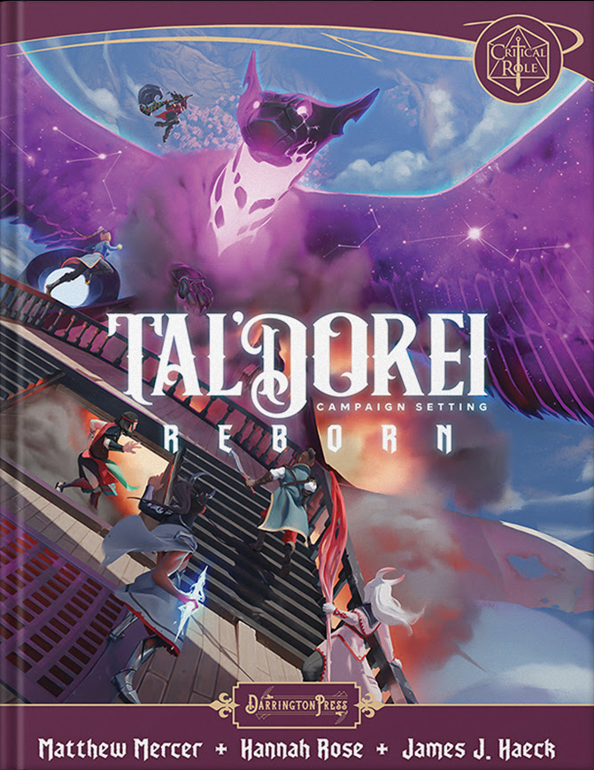 Capa do Tal'Dorei Campaign Setting Reborn