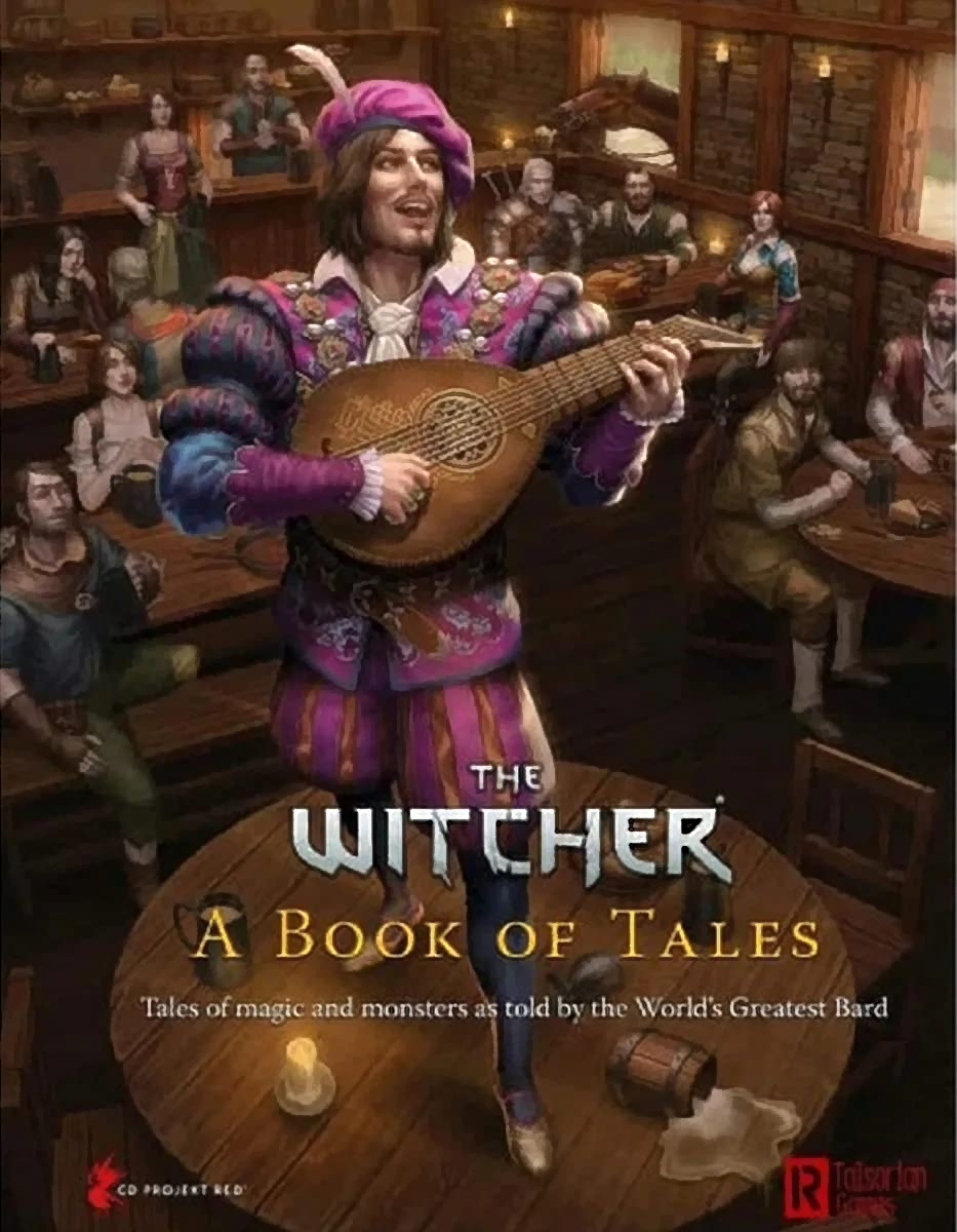 A Book of Tales The Witcher RPG