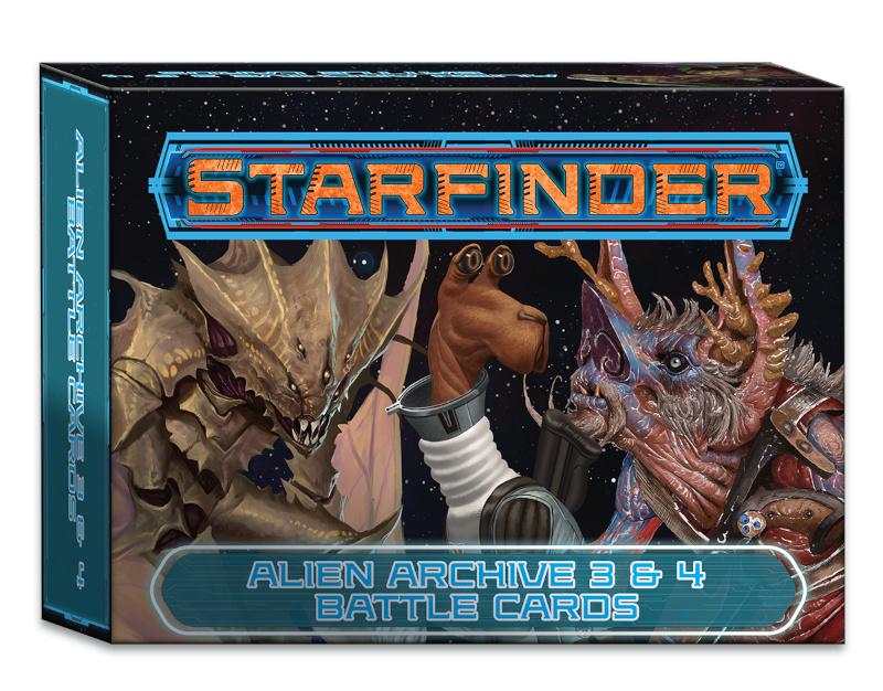 Alien Archive 3 & 4 Battle Cards
