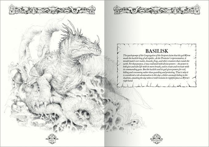 Basilisco Book of Beasts