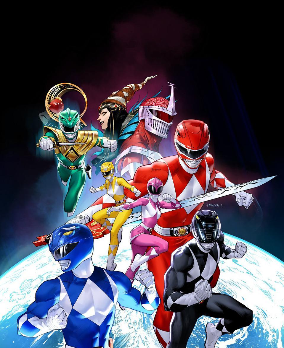 Power Rangers RPG Renegade Game Studios
