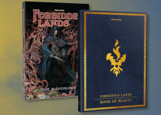 Forbidden Lands Book of Beasts e The Bloodmarch