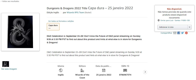 D&D Book 2022