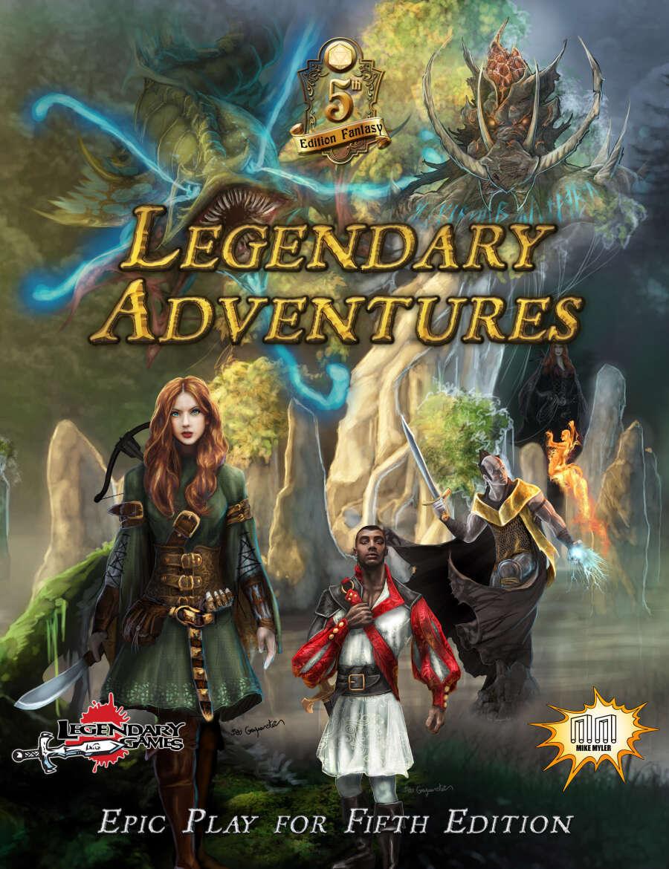 Legendary Adventures D&D 5E