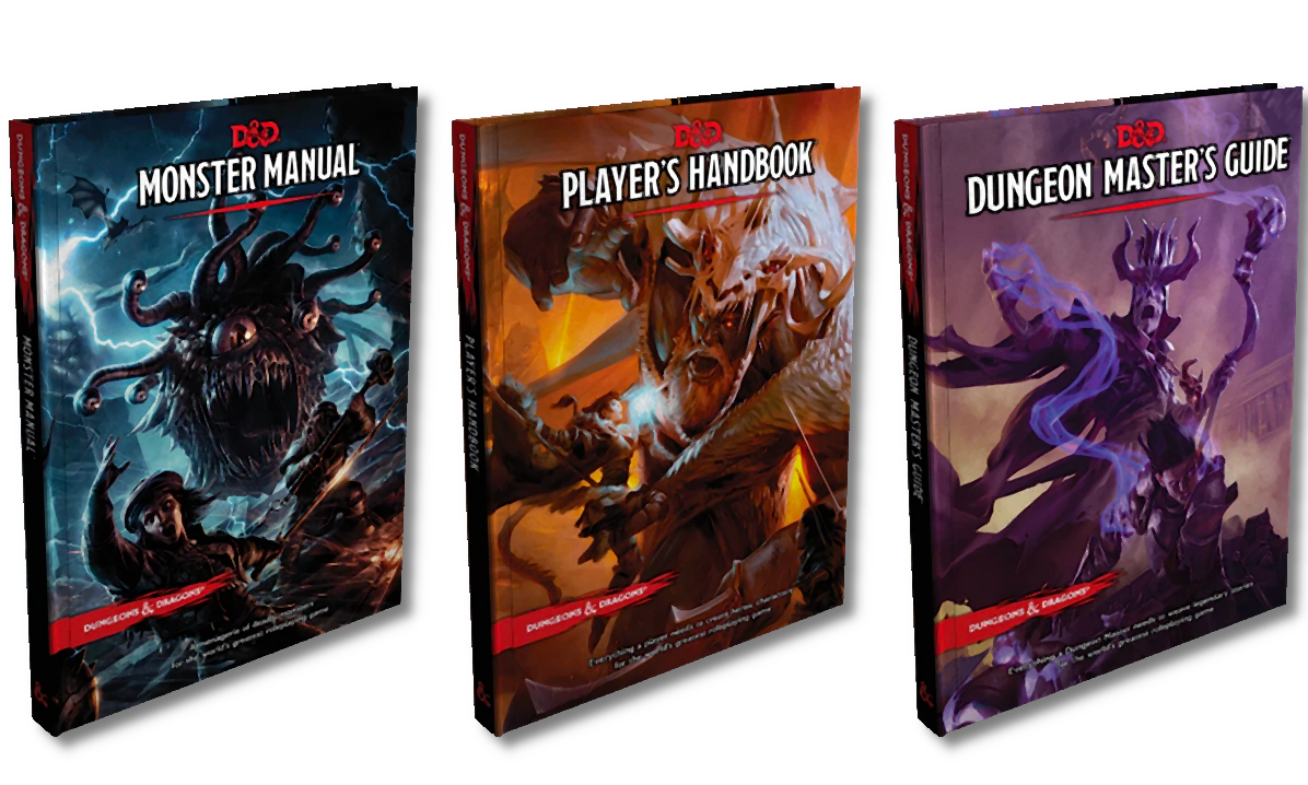 Core Rulebooks D&D