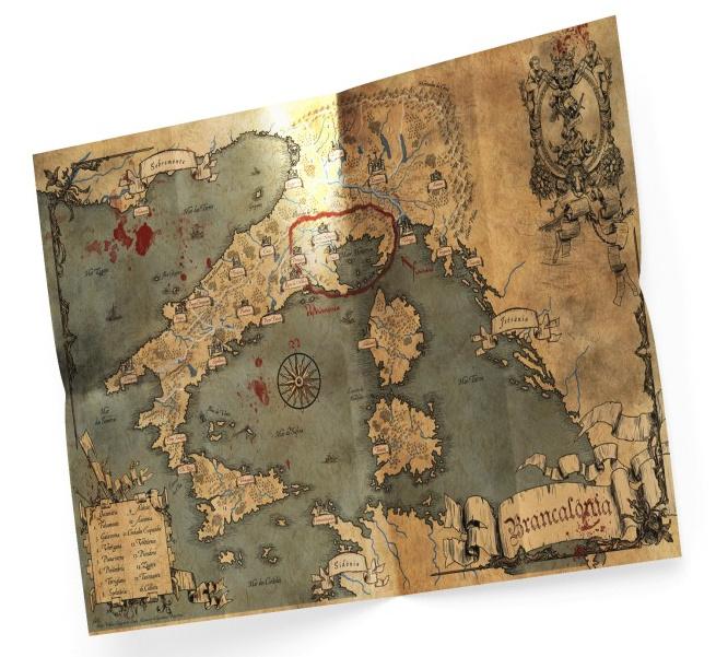 Brancalonia Map