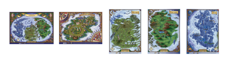Mapas The Wild Beyond the Witchlight