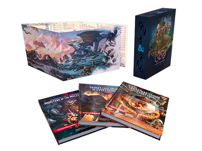 Dungeons & Dragons Rules Expansion Gift Set