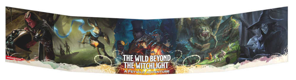 Escudo do Mestre The Wild Beyond the Witchlight
