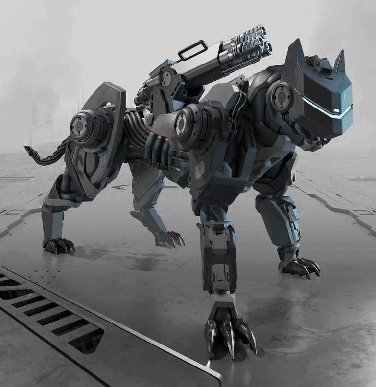 Zhirafa Savannah Panther Cyberpunk Red