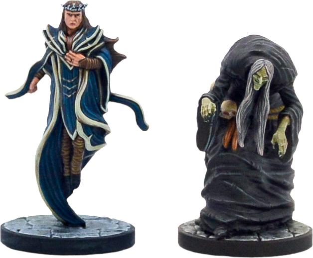 Zybilna & Iggwilv Miniatures