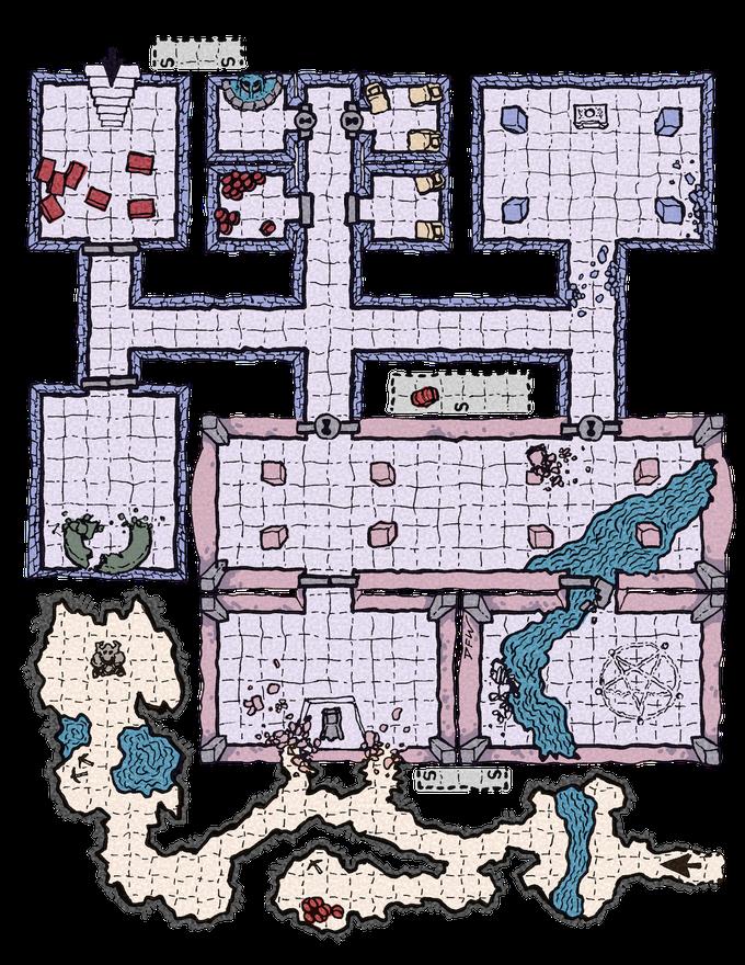 The Lazy DM's Companion Map